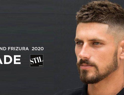 Fade frizura – stil modernog muškarca